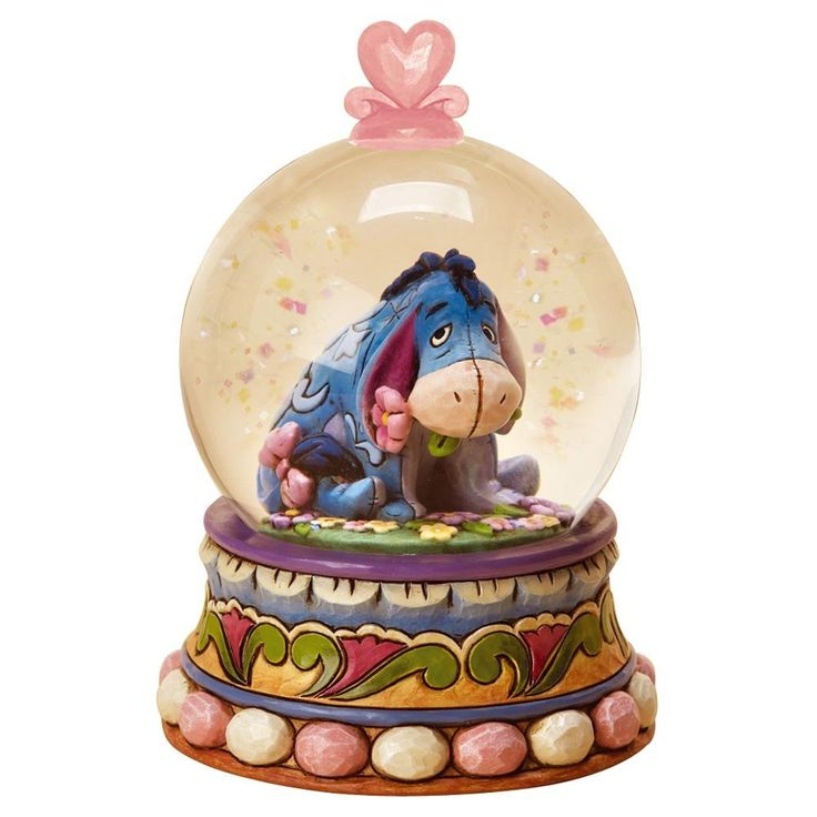 Amazon.com: Disney Traditions by Jim Shore 4015351 Eeyore Waterball 65mm: Furniture & Decor