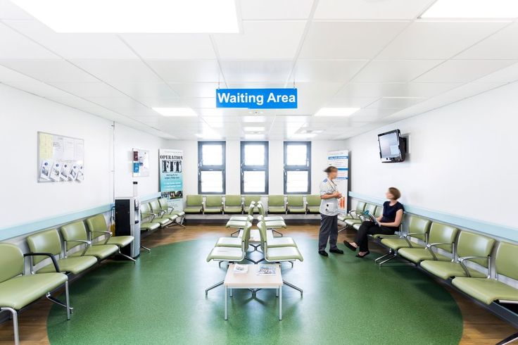 Bristol Royal Infirmary Pre-Operative Assessment, Armstrong Sufity Podwieszane, suspended ceiling, acoustic, sufit akustyczny