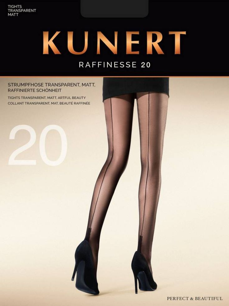 Ga jij voor vrouwelijk, sexy en stijlvol, dan ga je natuurlijk voor de Raffinesse 20 naadpanty van Kunert! Een elegante, klassieke naadpanty met een lichtglanze