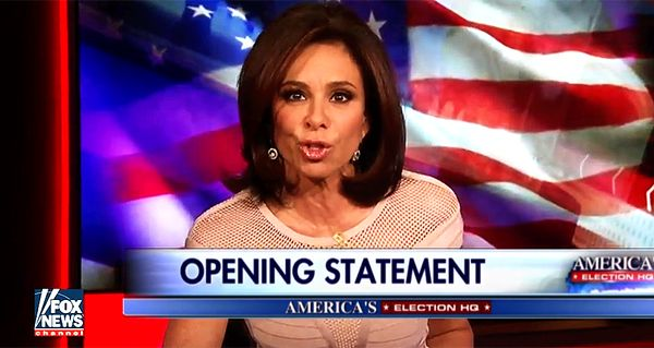 Watch Judge Jeanine Pirro Verbally Rip Mit Romney A New Hole. Only Traitors Will Vote For Romney! Are You One?