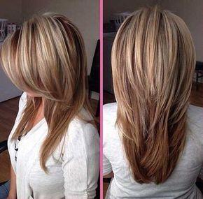 Haarschnitt fur mittellanges dickes haar