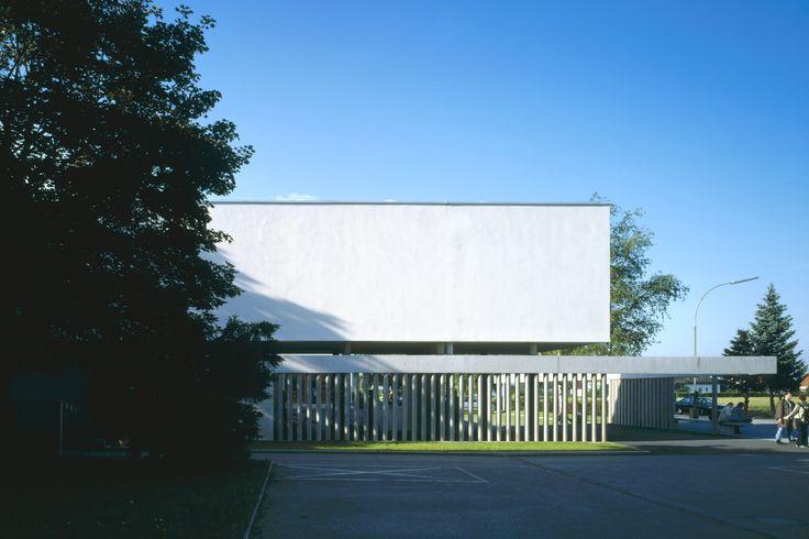 BORG HAK Perg - Entwurf FISCHILL Architekt