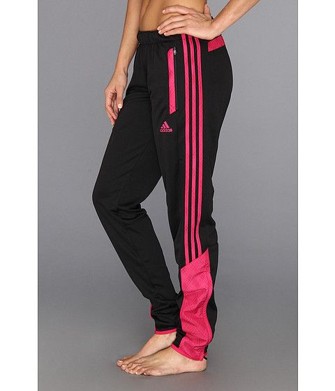 adidas Tiro Speedkick Pant Black/Blast Pink - Zappos.com Free Shipping BOTH Ways