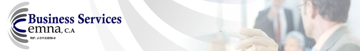 Business Services CEMNA, C.A. Te brinda soluciones contables, administrativas, financieras, legales y de asistencia al ejecutivo. Telf: (212) 618.19.35  Caracas · http://www.bscemna.com