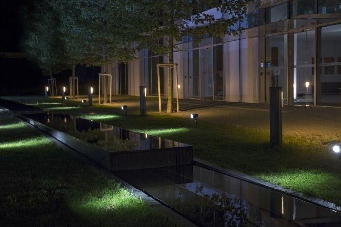 CLIMAX piikillä musta 230V LED 6W 60° IP54 3000K « LED MAAVALAISIMET « Laatuled