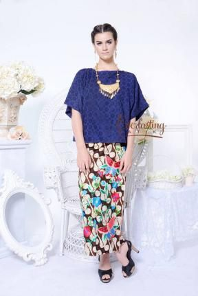 CA.10306 AORA bluedoby top www.everlastingbatik.co.id
