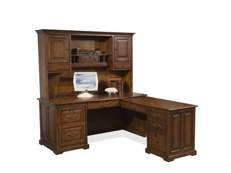 Riverside Home Office L Computer Workstation