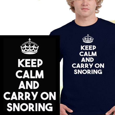 Snorers t-shirt from Clevaclogs