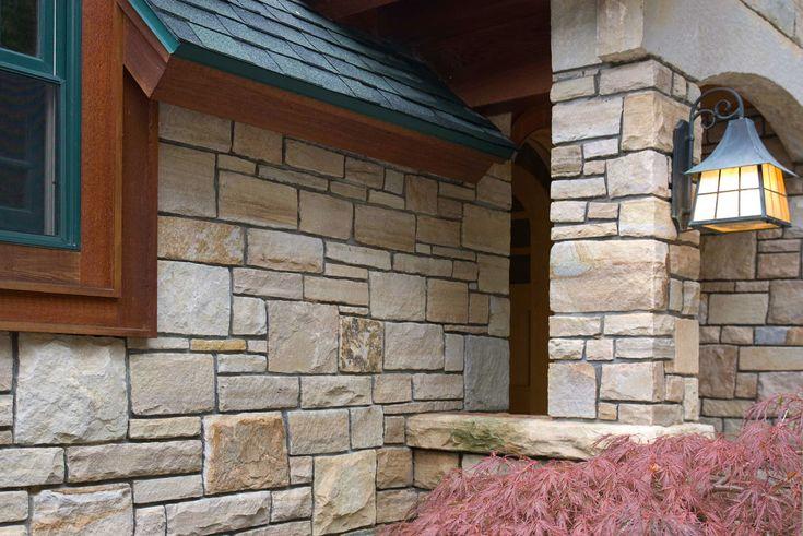268 Best Stone Siding Images On Pinterest Stone Siding