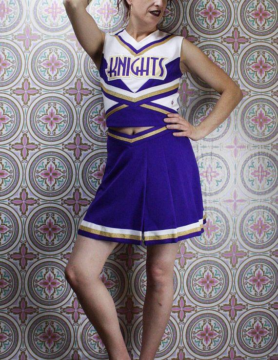 90's Cheerleader Uniform in my Etsy shop https://www.etsy.com/ca/listing/588959781/90s-knights-cheerleaders-uniform-top