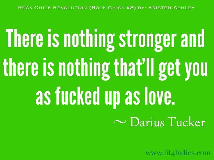 Darius Tucker, Rock Chick Revolution ( Rock Chick #8) by Kristen Ashley