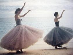Ballerina skirts - rock this frock.