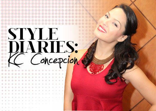 Seven stylish looks. kc concepcion