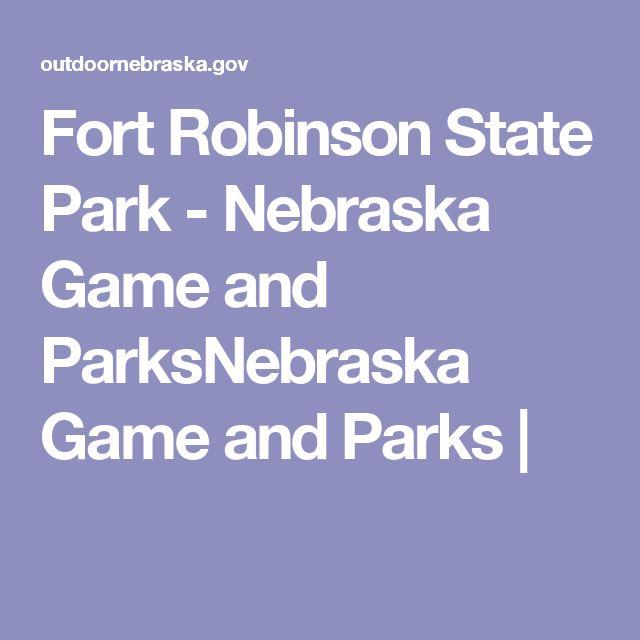 Fort Robinson State Park - Nebraska Game and ParksNebraska Game and Parks |