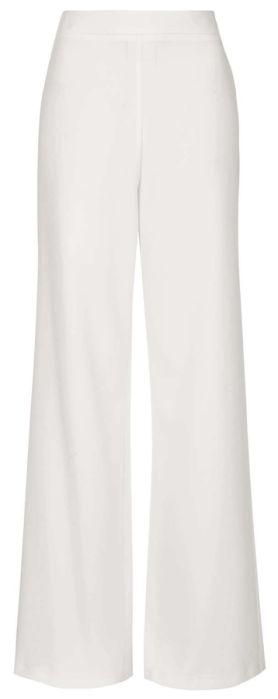 pantalon large taille haute blanc, topshop                                                                                                                                                                                 Plus