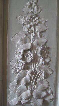 Plaster Relief Mural Clay Art Pinterest
