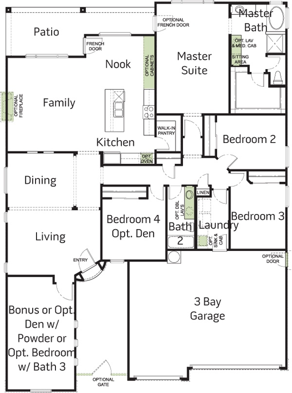 Woodside Homes Floor Plans 11 best house plans images on pinterest | new homes, ranch and arizona