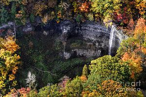 Photograph - Tews Falls Surrounded by Urbanmoon Photography