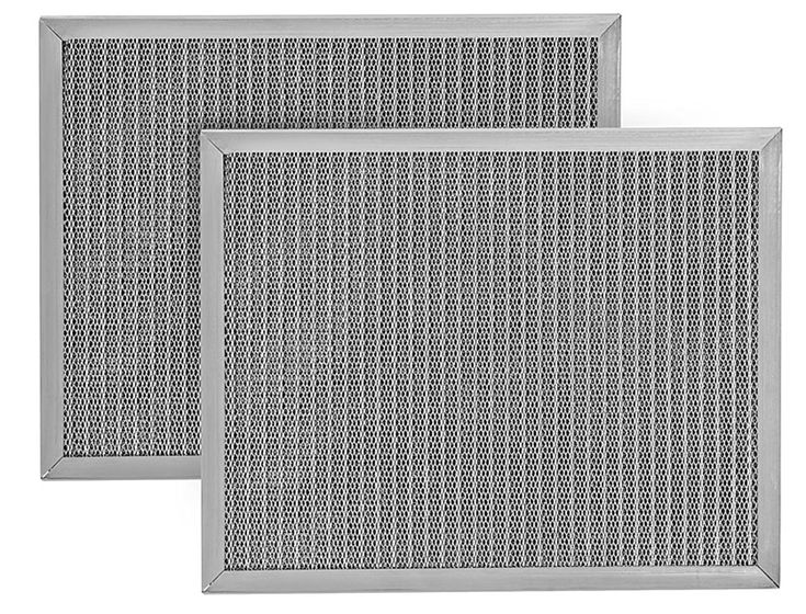Electrostatic Air Filter Replacement | HVAC Conditioner Purifier | Purify Allergens for Cleaner, Healthier Home Environment | Easy to Install | Made in the USA (24x24x1)