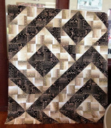 1000 Images About Rail Fence Quilts On Pinterest Rail