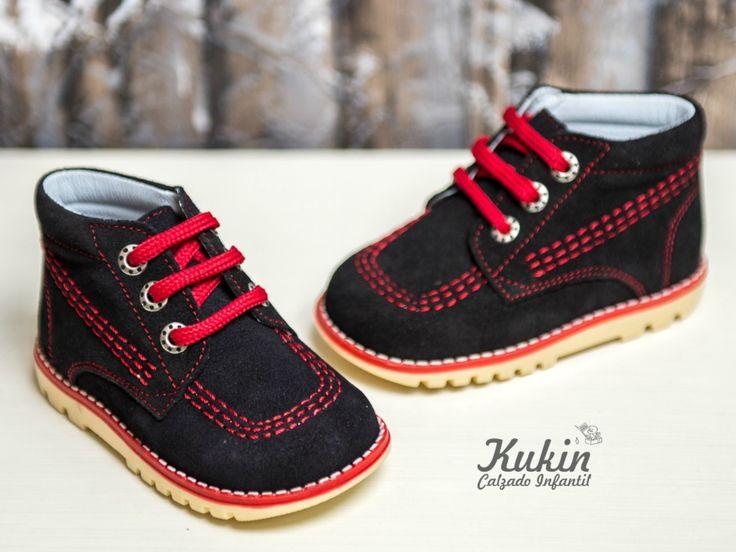 botas niño serraje marino comprar botas niño online - zapateria infantil online