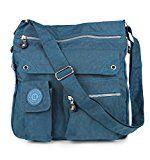 Amazon TOP Angebote 2221 Bag Street Damen sportliche Handtasche Umhängetasche Schultertasche aus Nylon: Praktische,…%#Quickberater%