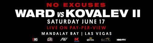 Andre Ward vs. Sergey Kovalev II rematch official for June 17