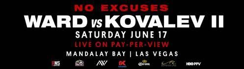 Andre Ward vs. Sergey Kovalev II rematch official for June 17