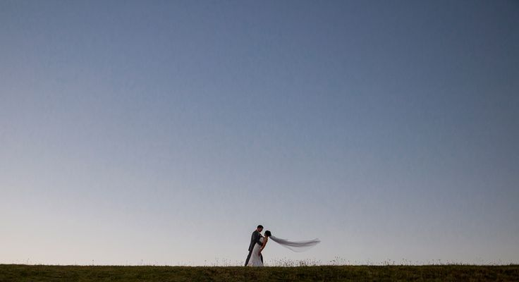 Veil on horizon - Salt Studios| Toowoomba Wedding and Commercial Photography