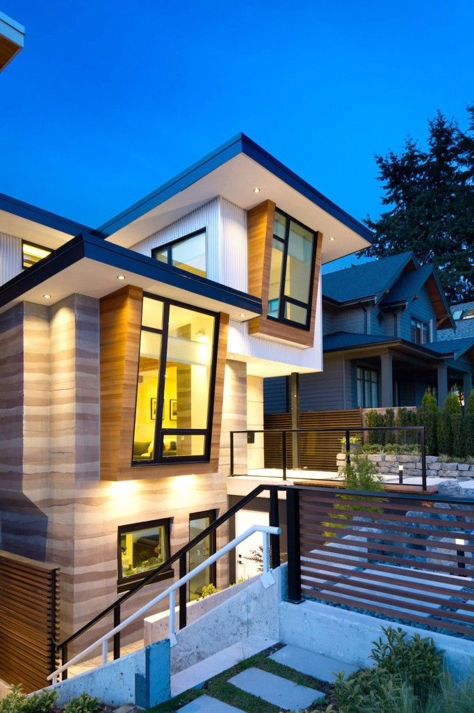 Contemporary 5 Best  Green  Home Design For A Future Luxurious Residential view