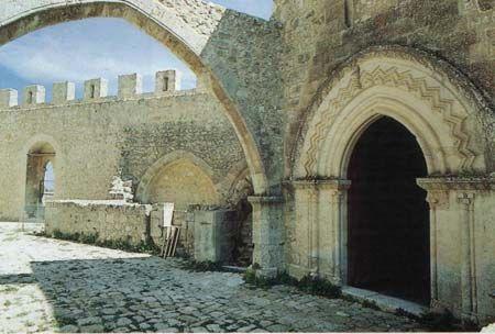 Interno Castello Mussomeli (Caltanissetta)