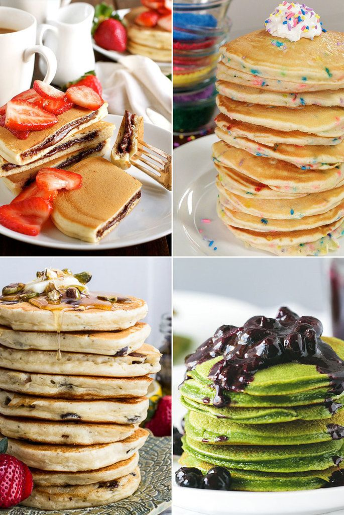 Buttermilk pancakes will always have a place in our hearts (and on the breakfast table), but there are so many more flavors you can whip up for yourself and your loved ones. Allow these unique recipes to be your guide.