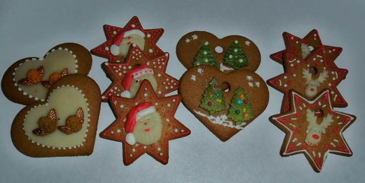 kerst koekjes gezellig voor bij de thee chocomel of koffie