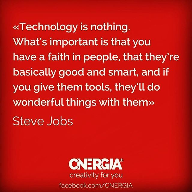 We have the tools... #cnergia4u #havefaith #creativity