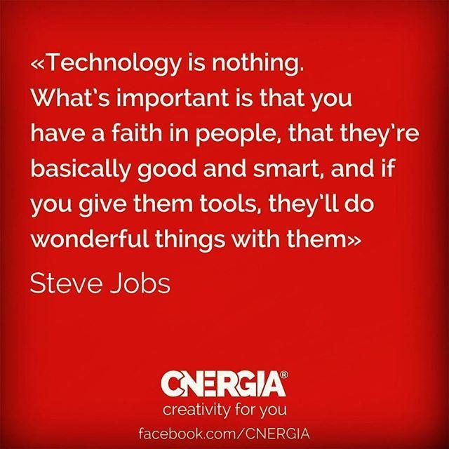 We have the tools... #cnergia4u #havefaith #creativity