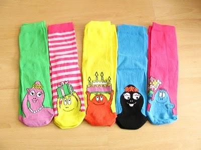 barbapapa socks.