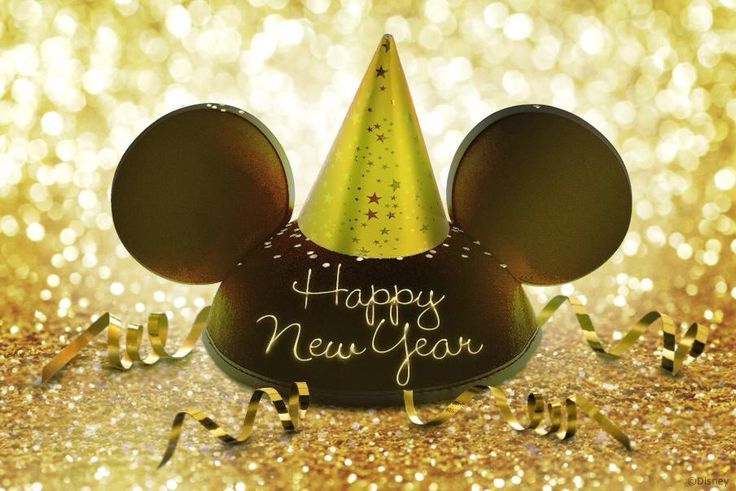Happy New Year from Disney!