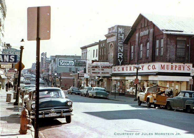 light baltimore md circa 1963 baltimore