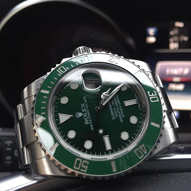 💚Rolex 116610 lv - no filters💚 #rolex#rolexero#rolexblog#lovewatches#watches#wwatches#watchporn#wristporn#wristshot#watchoftheday#rolexwrist#fashion#style#luxury#luxurytimepieces#swissmade#dailywatches#TheWatchesClub#swisswatchambassador#suitcarwatches#lv#hulk#fun#weekend#green#mercedes#benz#sub#submariner