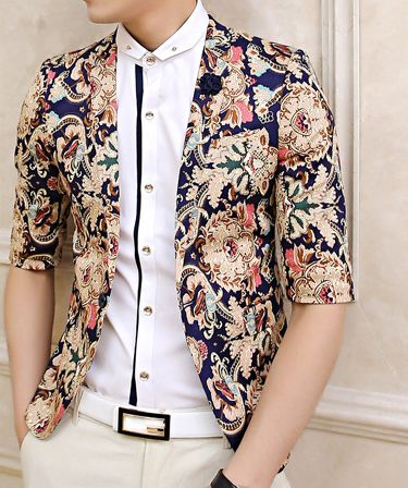 *Handsome Upscale Floral Blazer of High Quality And Style| PILAEO