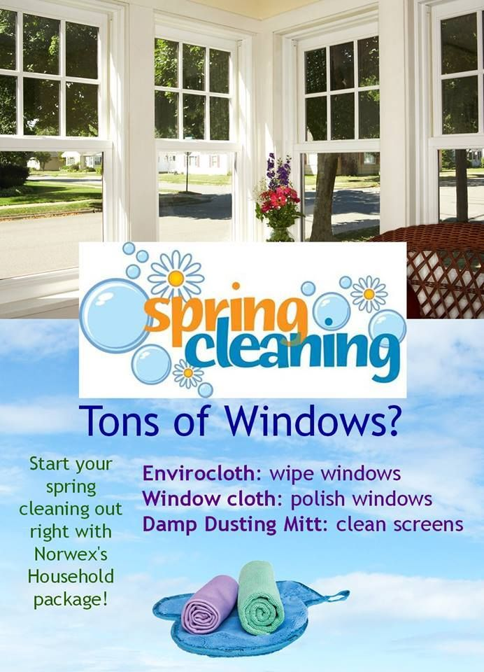 Spring Cleaning Made Easy Use The Household Package Shown