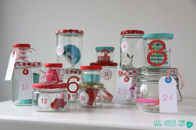 Villa Appelzee kerst DIY Advent calendar www.appelzee.com