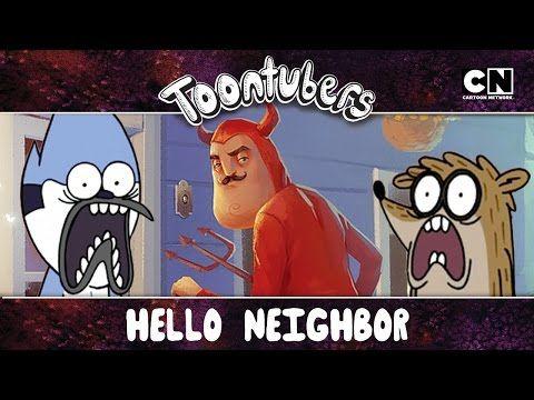 Hello Neighbor, ¡choca esos cinco! ¡TERMINAMOS TU JUEGOOOOOOOHHHHHH! | Toontubers | Cartoon Network - YouTube