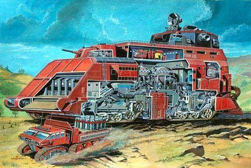 Thunderbirds Gray & Houseman construction vehicle