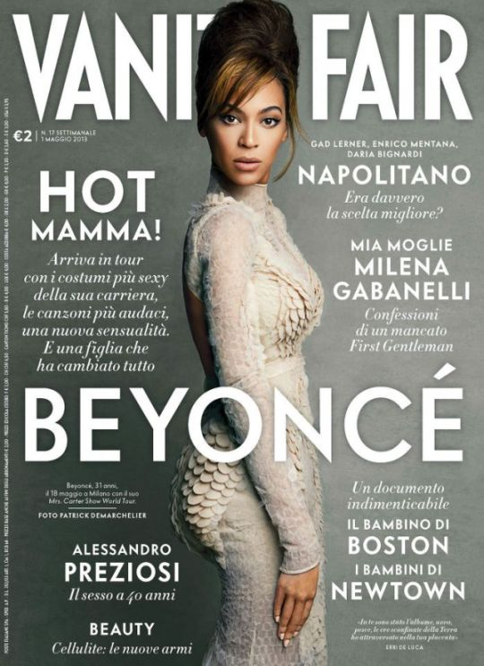 Lovely Beyonce Covers Vanity Fair Italy In Givenchy