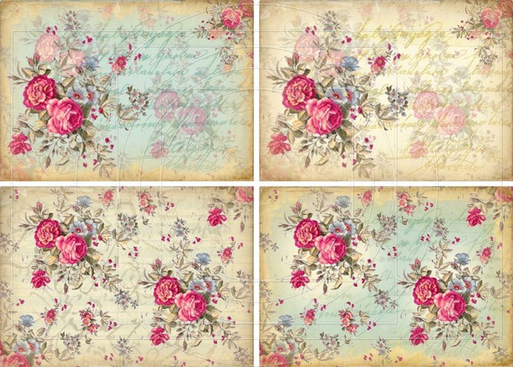 DigiTAL DoWnLOAds ShaBBY ChIc GiFt TAgs FLoRaL baCKgroUnds ...