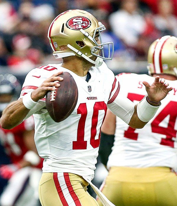 Key 49ers player and team stats from 26-16 win over the Texans