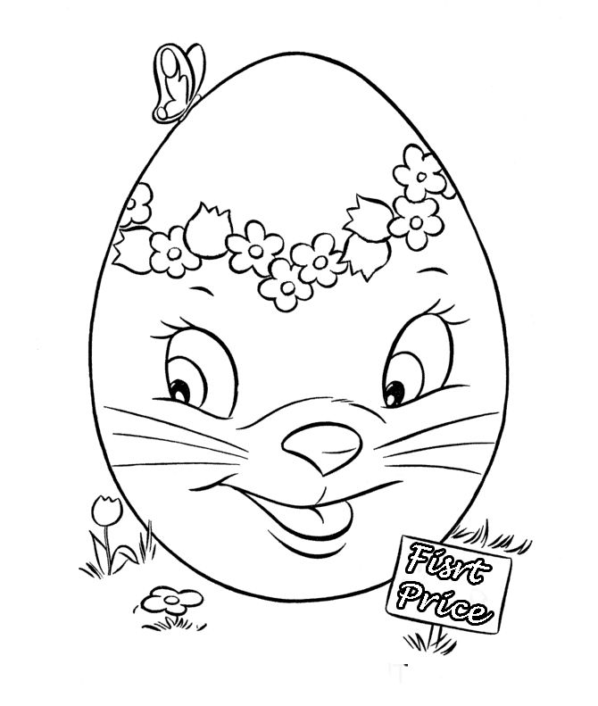 The Best Easter Egg Of All Coloring Pages
