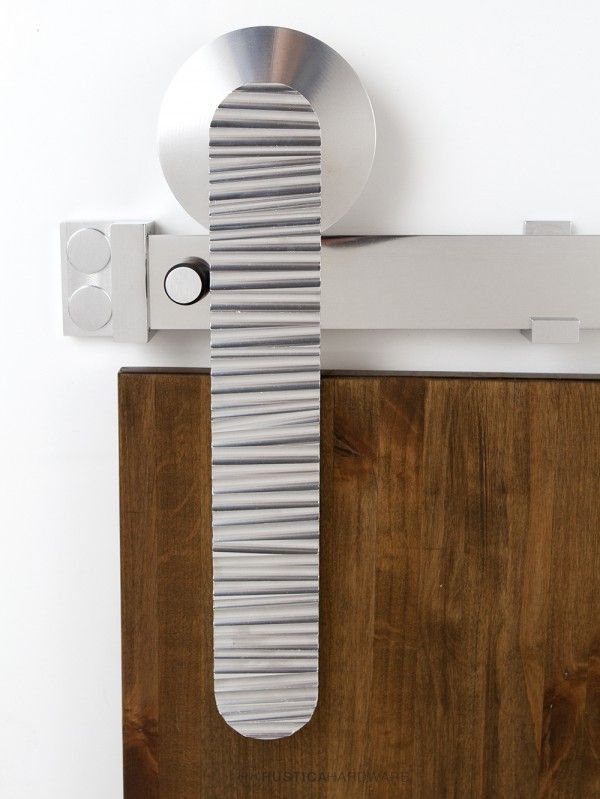 Ripple Barn Door Hardware | Rustica Hardware