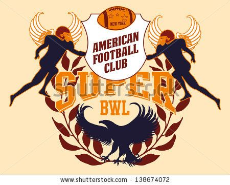College American Football Vector Art - 138674072 : Shutterstock